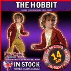 FANCY DRESS COSTUME ~ LORD OF THE RINGS BILBO BAGGINS SMALL AGE 3-4